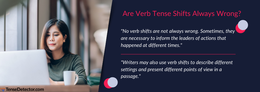 are tense shift always wrong