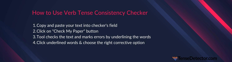 how verb tense consistency checker works